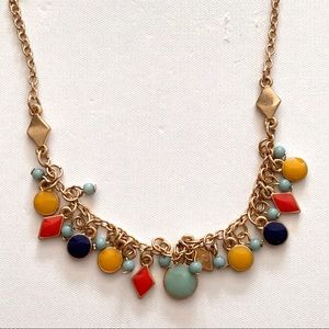 NWT Old Navy Colorful Charm Necklace - 17.5""